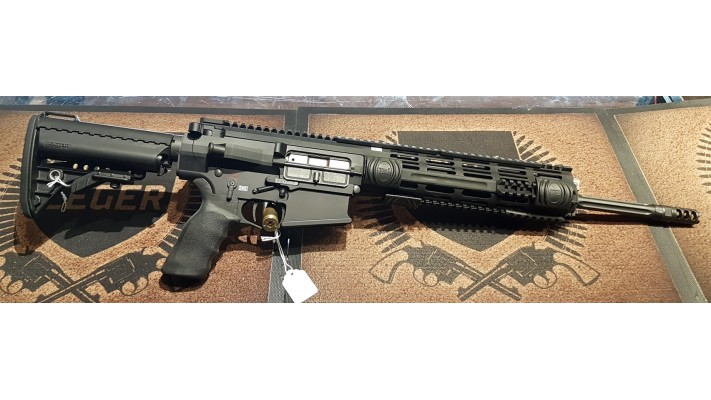 Patriot Ordonance Factory **POF**, 308win, P308 16 pouces Recoon Rifle Package - tres propre