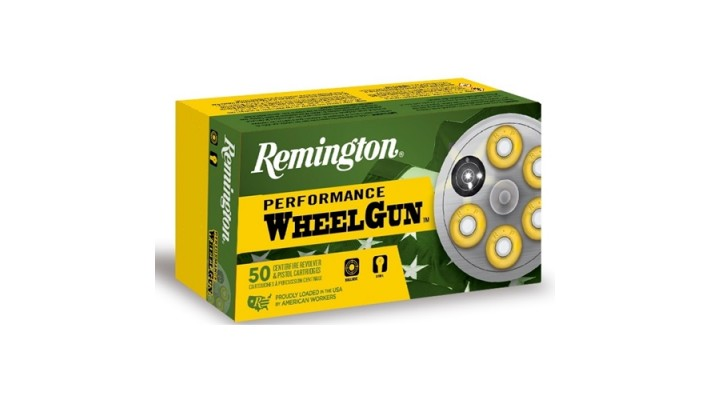 Remington Performance Wheelgun 38 S&W Ammo 146 Grain Lead Round Nose