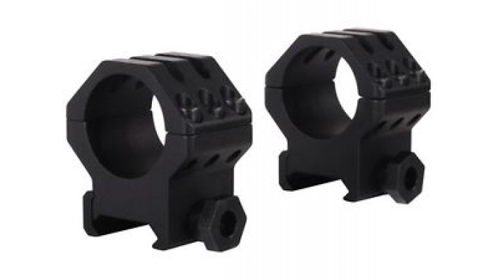 Weaver Rings Tactical 6 trous - High 1""