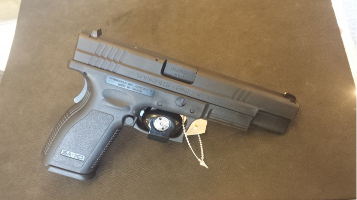 Springfield Armory XD-9 Tactical 9mm Used