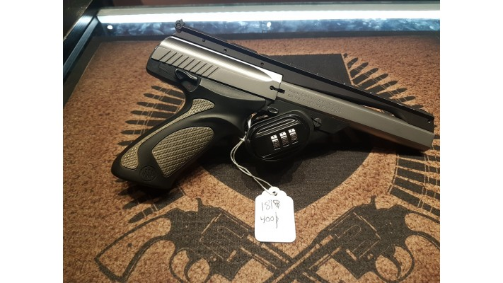 Beretta Neos, canon long, stainless, 22lr - propre