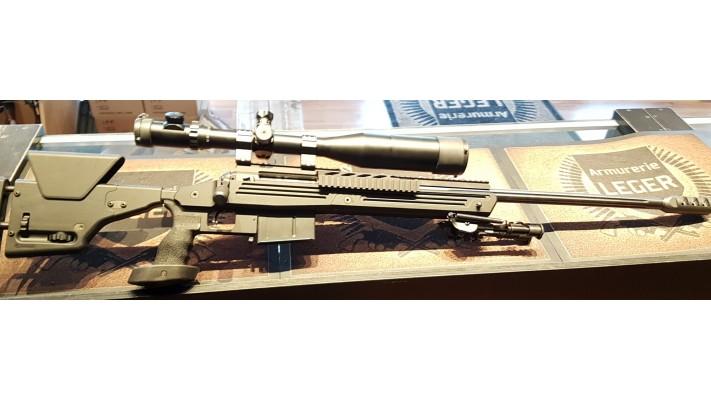 Savage 110BA 338 Lapua, tiré 500 balles, Scope Millett 6-25x56 LRS Used -