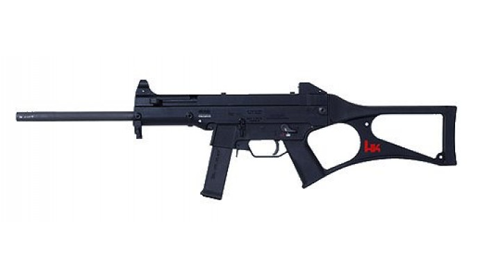"HK USC 45acp, restreint, 16"" de canon"