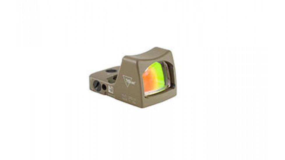 Trijicon - RM01-C-700624: Trijicon RMR® Type 2 LED Sight – 3.25 MOA Red Dot Cerakote Flat Dark Earth