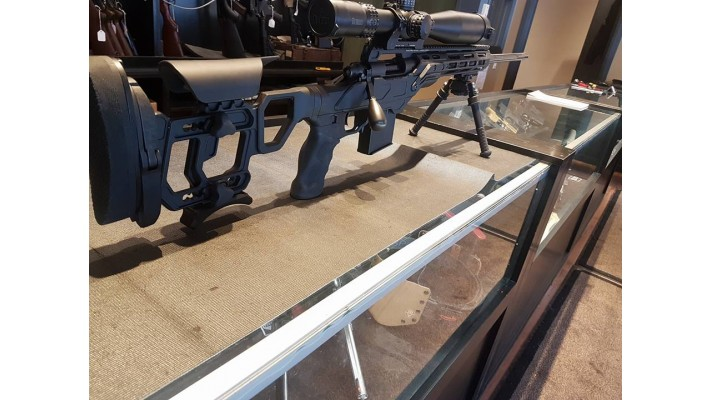 Remington 700 tactical long range 308win Crosse cadex field tactical rail 20 moa Scope burris xtr 5-25×50 ffp mount burris Twist 1:12 26pouces de canon 1 chargeur accurate 10 coups Bipied altlas Muzzle brake -35%