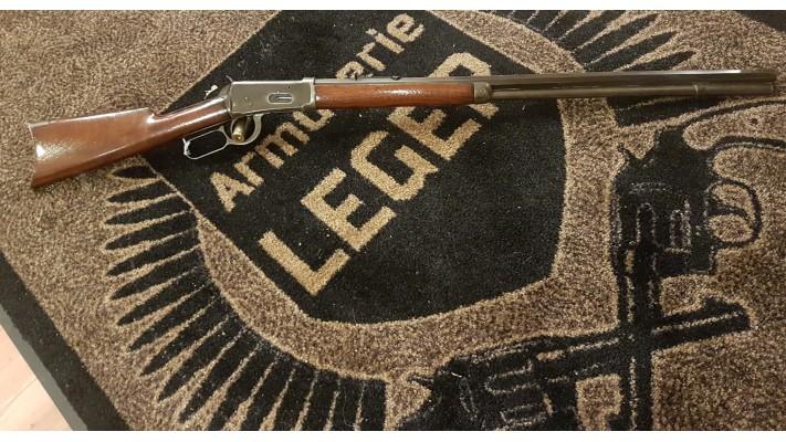 Winchester 94 - 1895 - Calibre 38-55 - Canon Octogonal - Rapport d'évaluation - évaluée a 2300$