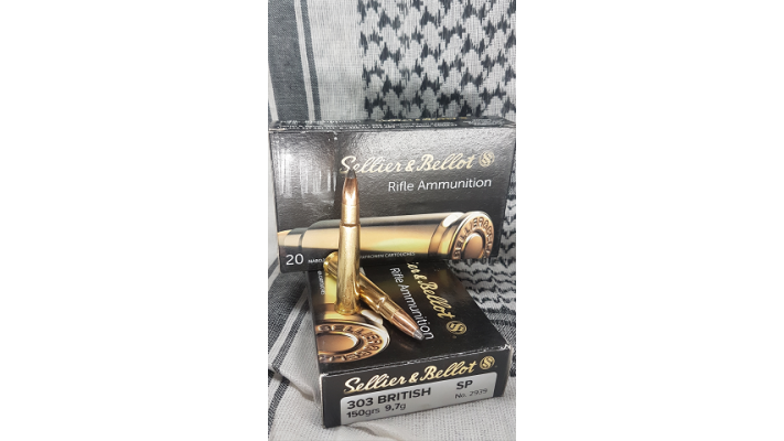 303 British Sellier Bellot SP 150gr