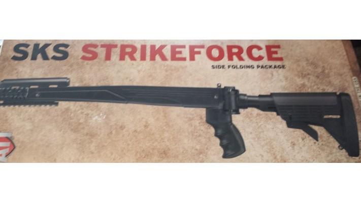 Crosse ATI Strikeforce pour SKS - Noire - Tan - Grise