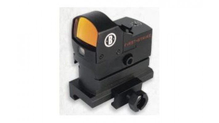 Bushnell AR Optics Red Dots - First Strike HiRise, Matte, 5 MOA Red Dot, Self Regulated Brightness, 1/2 MOA