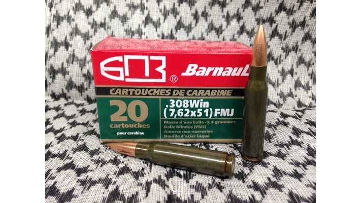 Barnaul .308Win / 7.62x51R / 140gr / SP