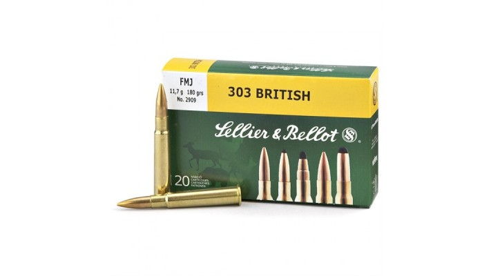 303 british Sellier Bellot FMJ 180gr